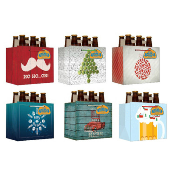 Expressive Design CGBBA-14 Beer Gift Bag with 6 Assorted Styles