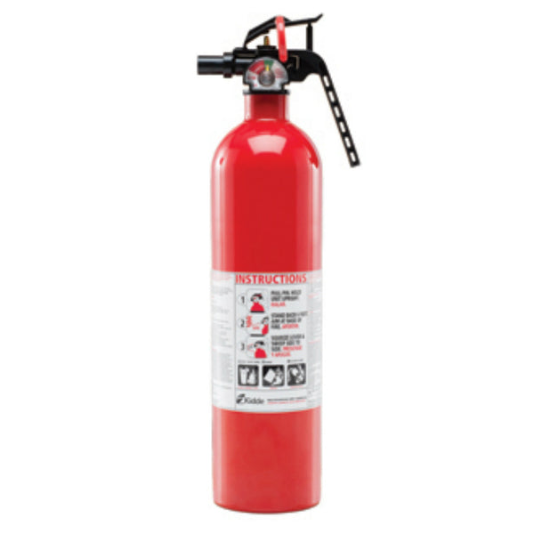 Kidde 466142MTL Multipurpose Home Fire Extinguisher, Red, 2.5 Lbs