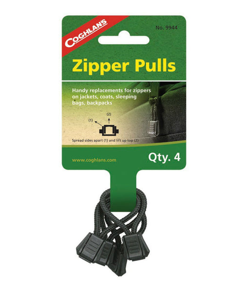 Coghlan's 9944 Tent Replacement Zipper Pulls, 4 Pack