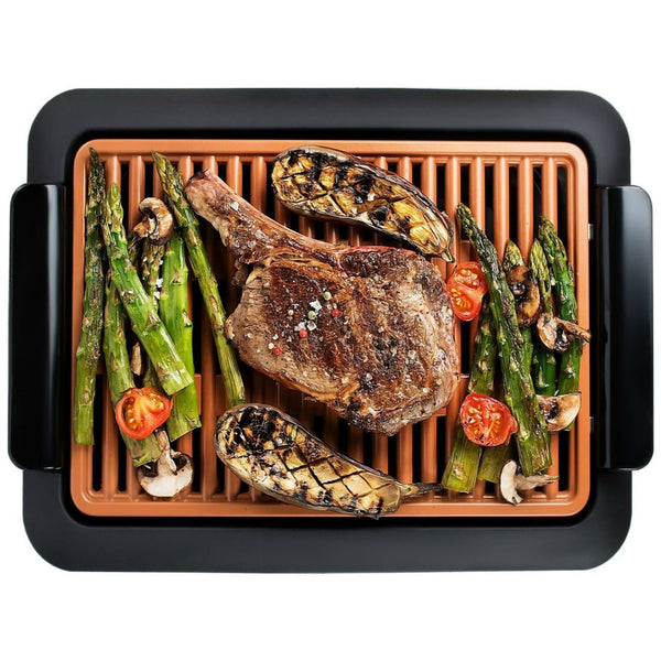 "Gotham Steel 1618 Non-Stick Electric Smokeless Grill, 16"" x 14"", As Seen On TV"