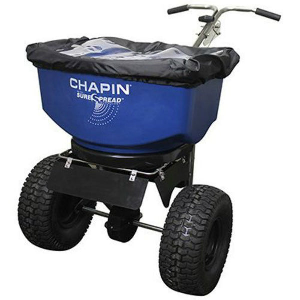 Chapin 82108B Professional Salt & Ice Melt Spreader, 100 Lbs