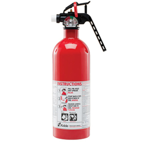 Kidde 21005944MTL Basic Fire Extinguisher with Metal Nozzle