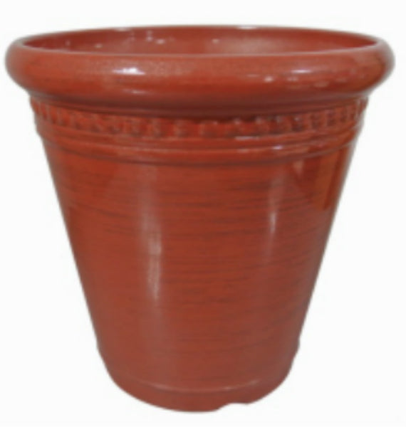 Southern Patio HDR-054115 High Density Resin Holiday Planter, Assorted Color, 7""