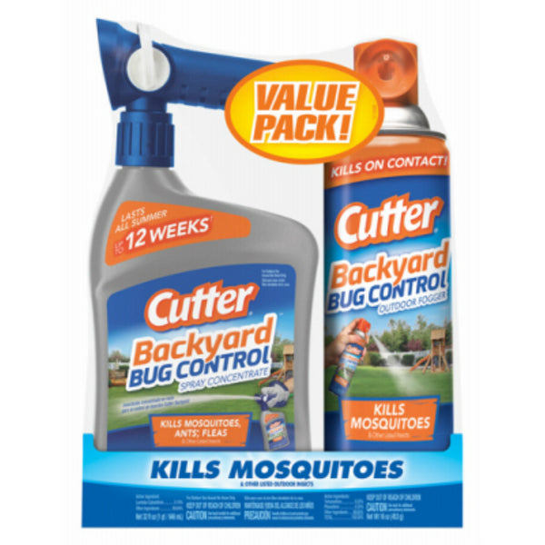 Cutter HG-65744 Backyard Ready-To-Spray & Backyard Fogger, 2-Pack