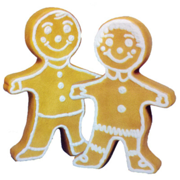 Union 75560 Gingerbread Boy/Girl Statue with C7 Bulb Christmas Decoration, 24""