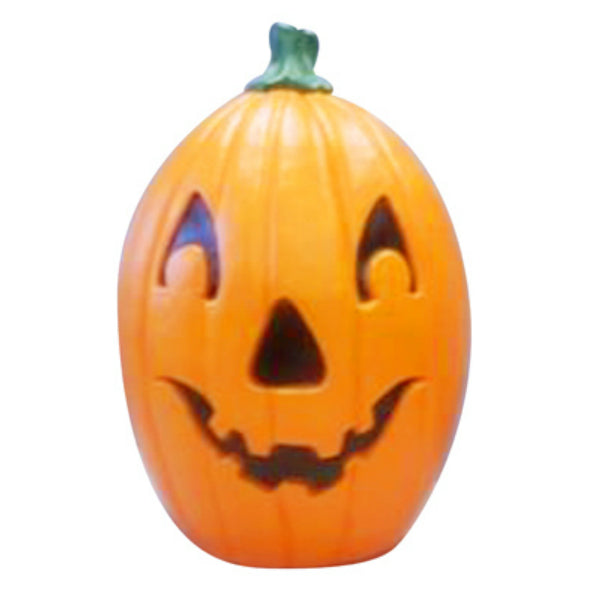 "Union 55841 Halloween Pumpkin Statue 22"" with 6' Cord & C7 Bulb"
