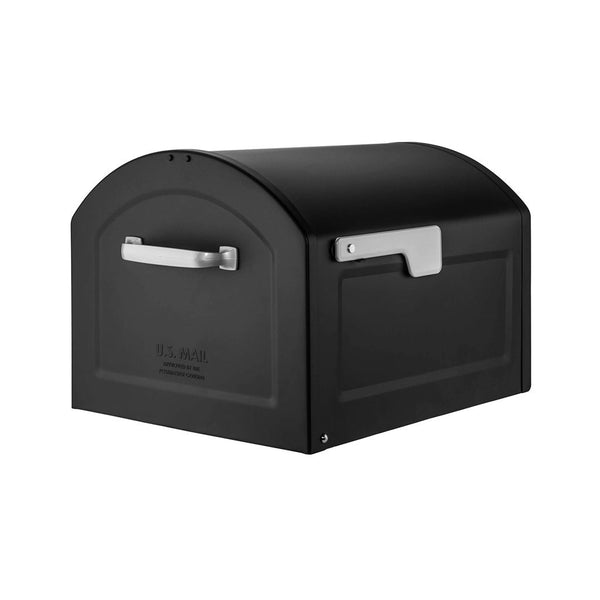 Architectural Mailboxes 950020B-10 Centennial Black Mailbox, Powder Coated