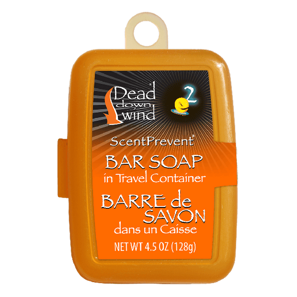 Dead Down Wind 12002 Scent Prevent Bar Soap with Travel Container, 4.5 Oz