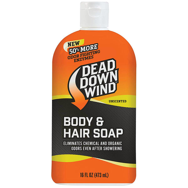 Dead Down Wind 121618 Unscented Body & Hair Soap, 16 Oz