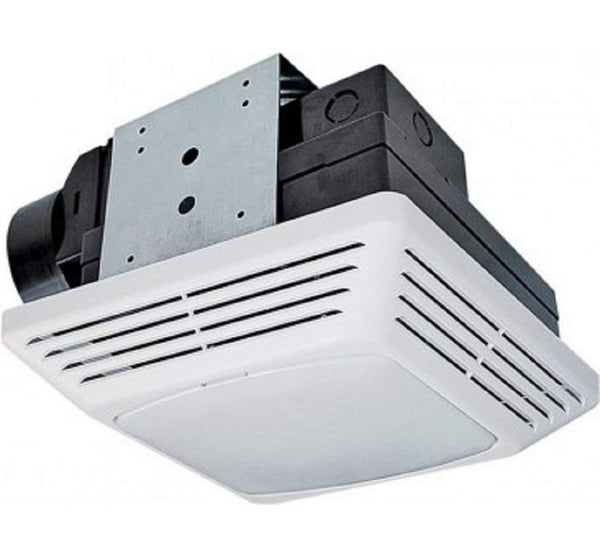 Air King BFQL70 High Performance Exhaust Bath Fan with LED Light, 22.6W, 70 CFM