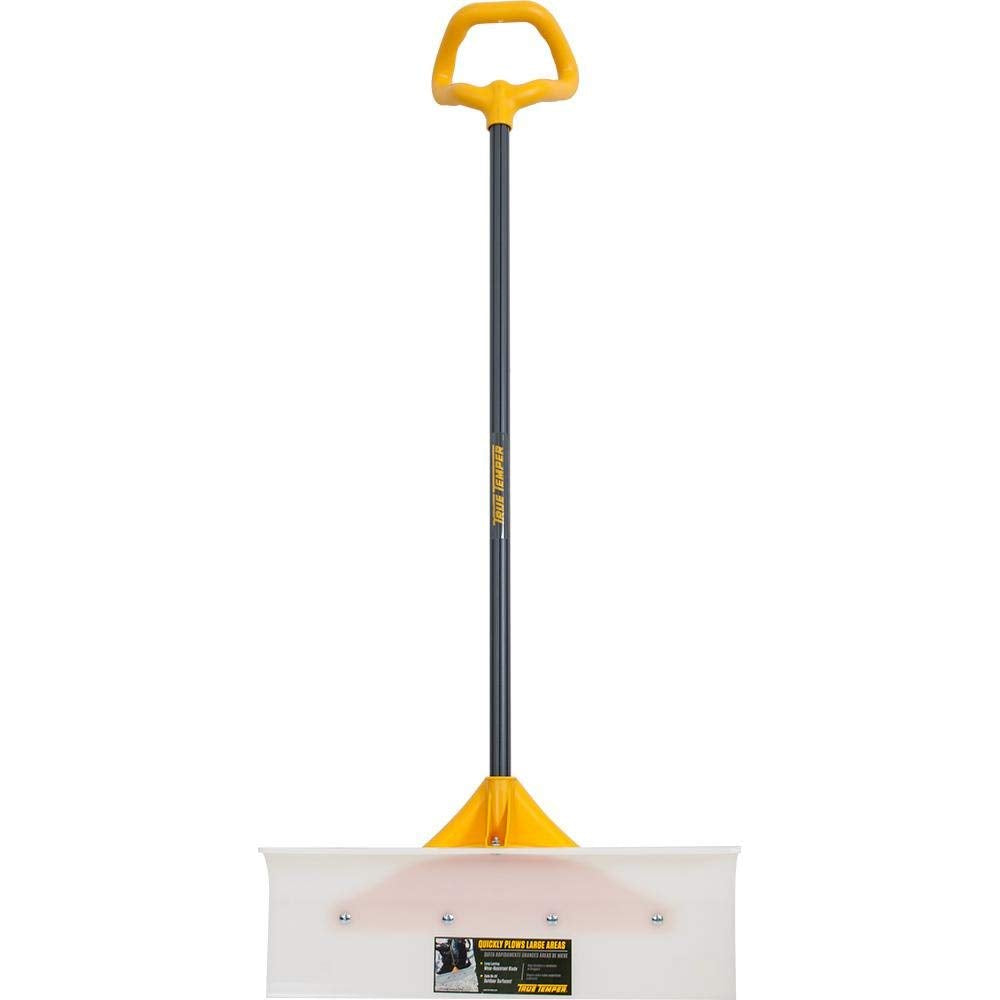 True Temper 1662400 Industrial Grade Snow Pusher with Versa Grip, 24""
