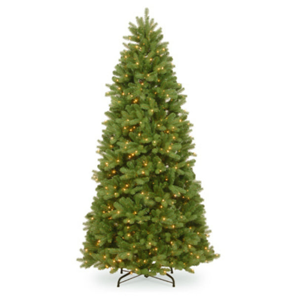 National PEND2-310-75 Newberry Spruce Hinged Tree,2041 Tip,750 Clear Light, 7.5'