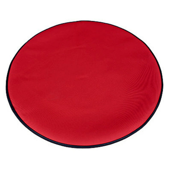 Simple Living 231035 Christmas Tree Indoor/Outdoor Rubber Mat, Red, 35 Inch x 35 Inch