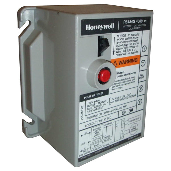 Honeywell R8184G4009/U Protectorelay Oil Burner Control