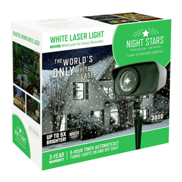 Viatek LL03-WLED-MOV Night Stars Premium Moving White Laser Light Projector