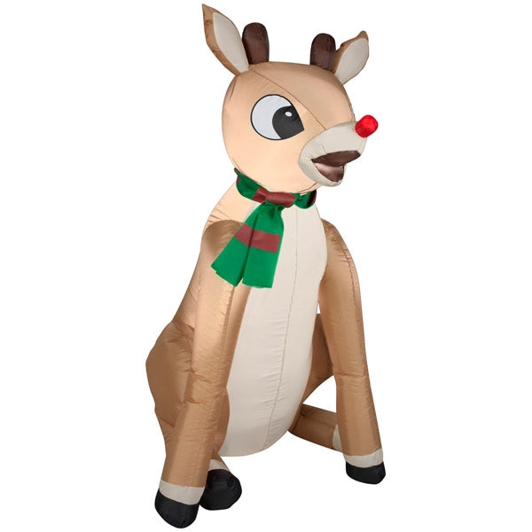 Gemmy 86344 Christmas Airblown inflatable Rudolph, 3'