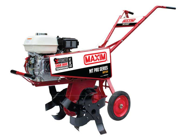 Maxim RMT55H PRO Series Tiller with Slasher Tines, 72 RPM