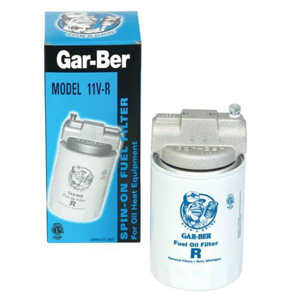 Gar-Ber 1600 Spin-On Fuel Filter, 10 Micron