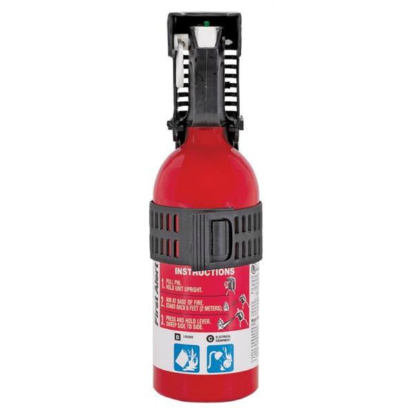 First Alert FESA5A Non-Rechargeable Auto Fire Extinguisher, 1.4 Lb