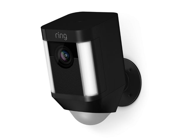 Ring 8SB1S7-BEN0 Battery-Powered Spotlight Camera, Black