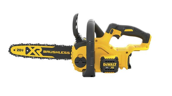 "DeWalt DCCS620B Brushless XR Compact Cordless Chainsaw, 12"", 20V MAX"