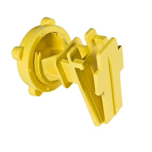 Red Snap'R IRTY-RS Round Post & Tape Insulators, Yellow