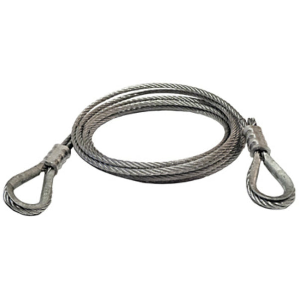 "American Power Pull 28512 Power Pull Wire Rope Extension, 3/16"" x 12'"