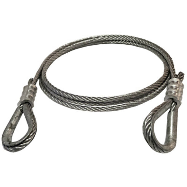 "American Power Pull 28506 Power Pull Wire Rope Extension, 3/16"" x 6'"