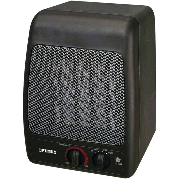 Optimus H-7000SH Portable Ceramic Heater with 2 Heat Settings
