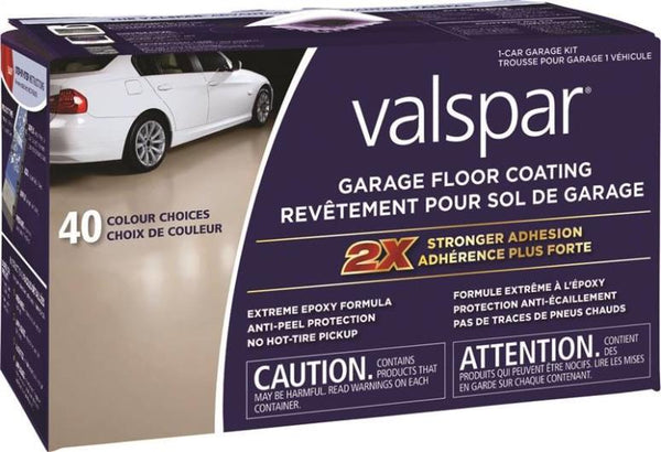 Valspar 81027C Garage Floor Coating Kit, Tint