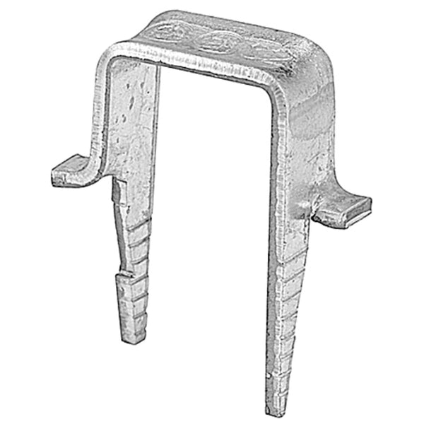Thomas & Betts S3M15 Galvanized Steel Cable Clamp & Staple, Silver