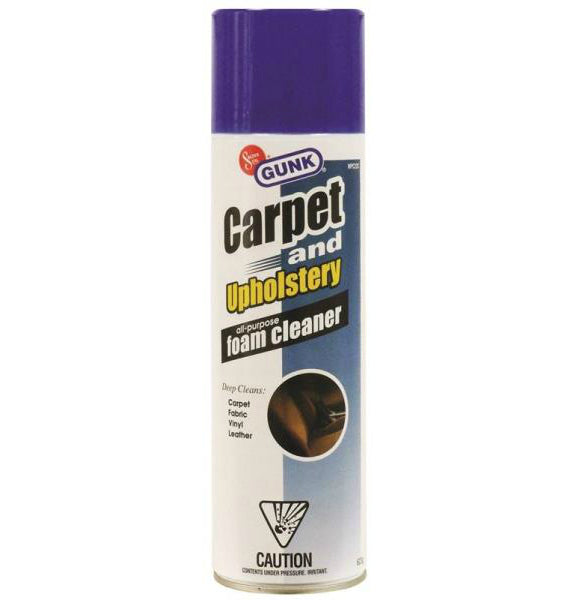Gunk Mpc22c Carpet Upholstery All Purpose Foam Cleaner Spray 623