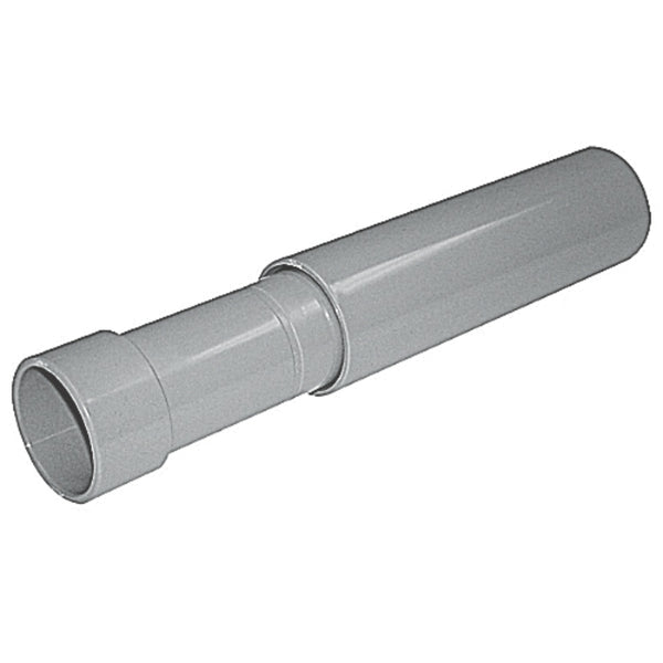 Carlon EXPCPLG-150 Expansion coupling for PVC conduit, Gray, 1-1/2""