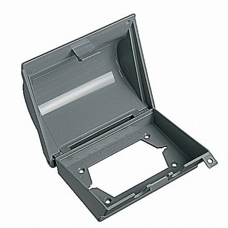Carlon WIUCOVS-H-G Electrical Box Covers, Gray, Single Gang