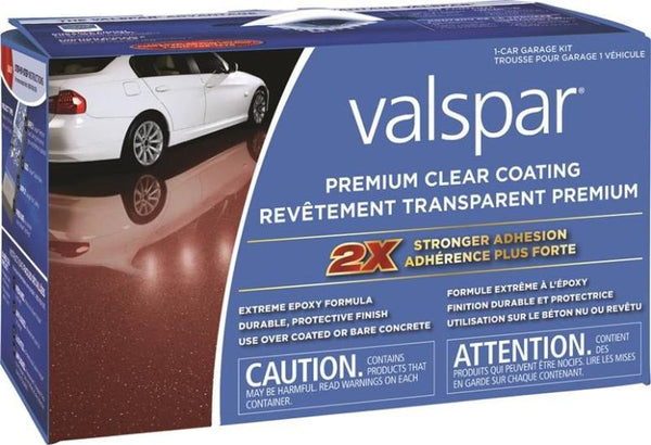 Valspar 81052C Premium Clear Coating Kit, Clear