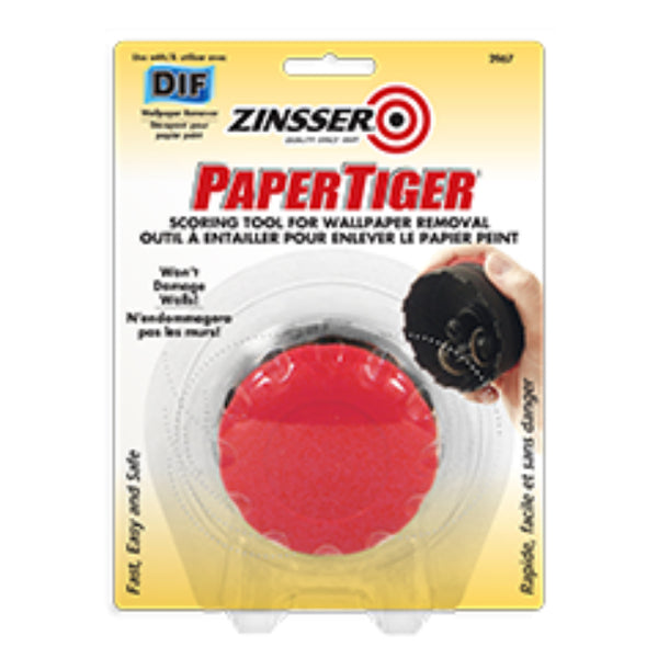 Zinsser Z02967 PaperTiger Scoring Tool for Wallpaper Removal