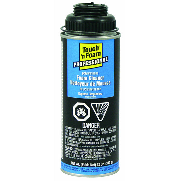 Touch 'n Foam 4004528700 Professional Zero VOC Foam Cleaner, 12 Oz