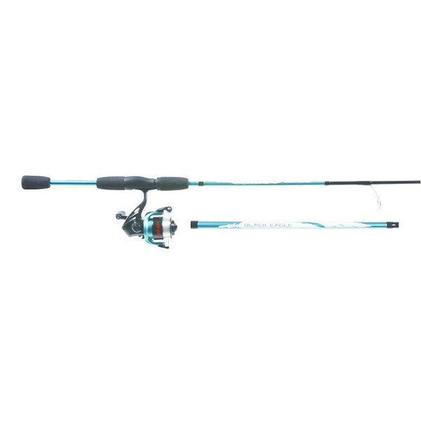 "Eagle Claw 0849-0778 Ultra Light Black Eagle Spinning Combo, 5' 6"", 2-Piece"