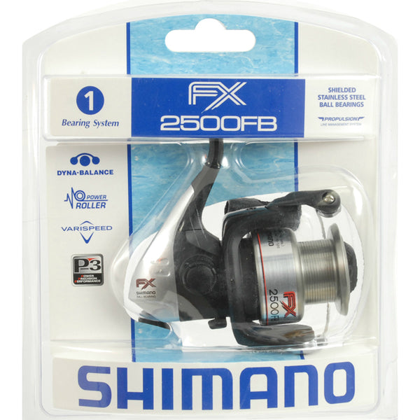 Shimano 0068-2036 FX-FB Series Spinning Reel with Diecast Aluminum Spool