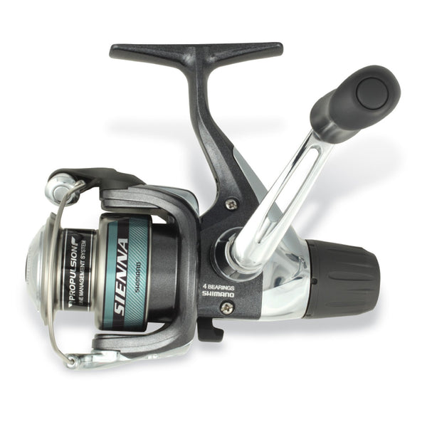 Shimano 0068-2199 Sienna 1000 Rear Drag Spinning Reel, 5.2:1
