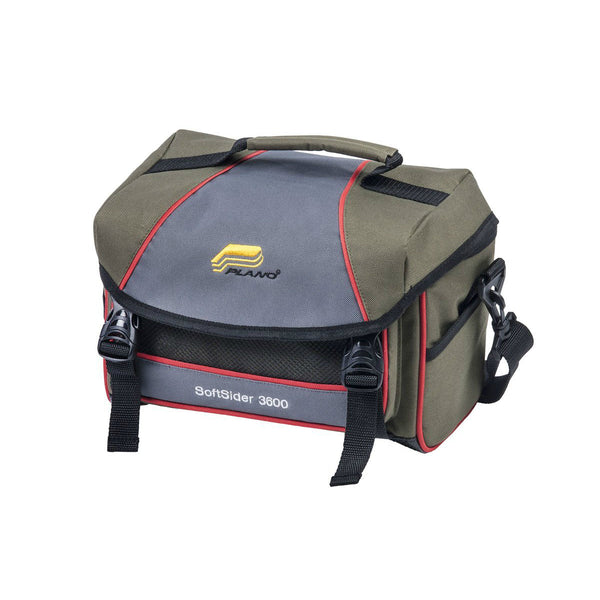Plano 0030-0601 Weekend Series Softsider Tackle Bag, Green