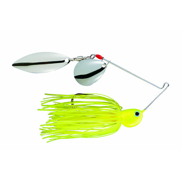 Strike King 0331-2032 Potbelly Spinner Bait, Chartreuse, 3/8 Oz
