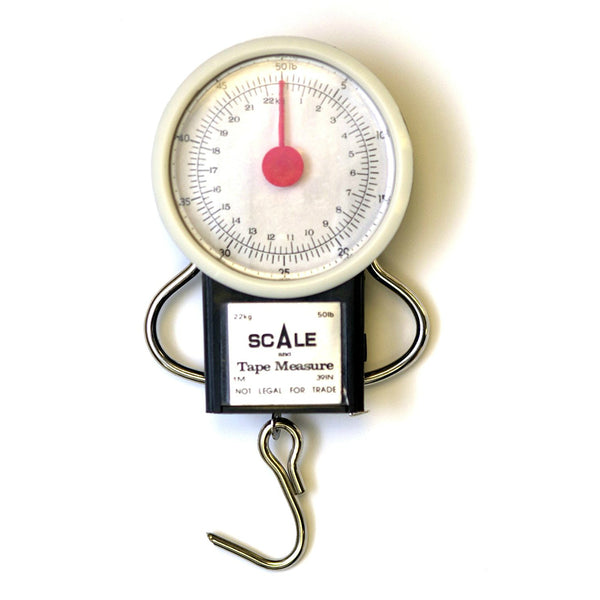 "Eagle Claw 0848-2222 Pocket Scale with 38"" Tape, 28 Lbs"