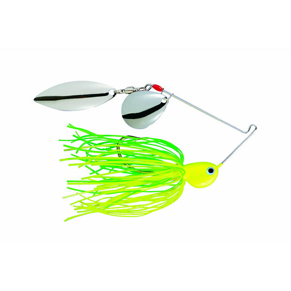 Strike King 0331-2035 Potbelly Spinner Bait, Limetreuse, 3/8 Oz