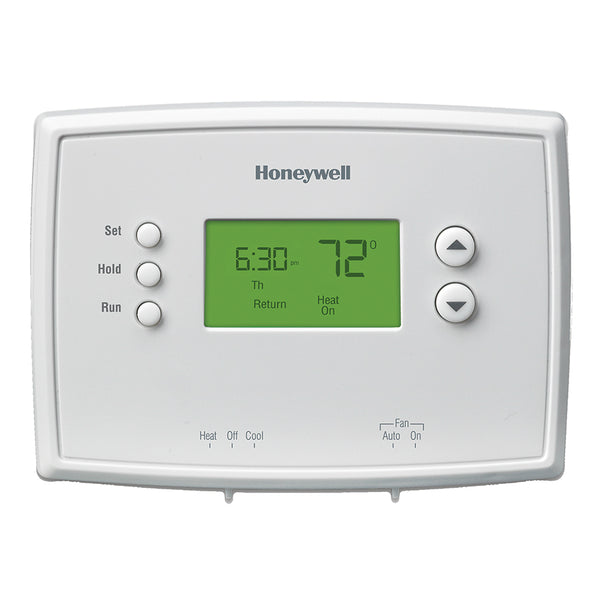 Honeywell RTH2410B1019 5-1-1-Day Programmable Thermostat, White