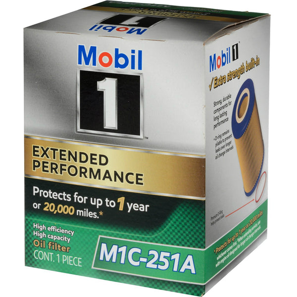 Mobil 1® M1C-251A Extended Performance High Efficiency Oil Filter
