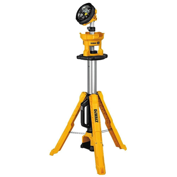 DeWalt DCL079B Cordless Tripod Light, 20V MAX