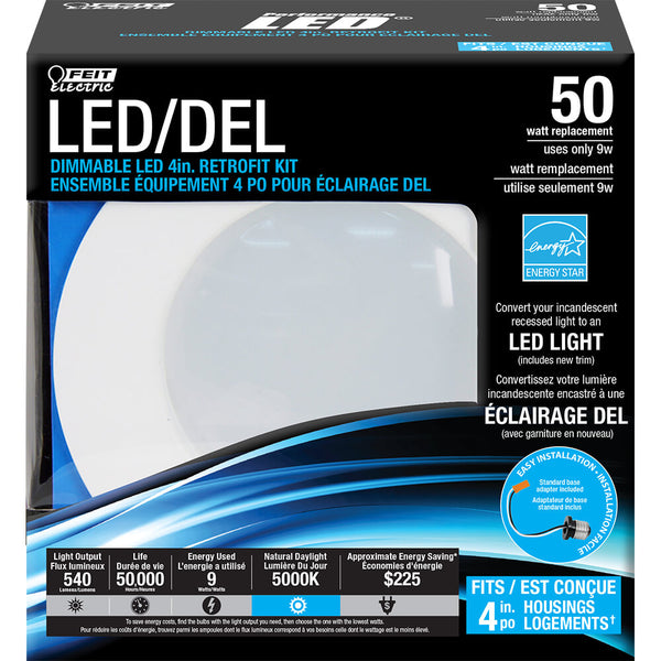 Feit Electric Ledg2r4 850 Can Daylight Dimmable Retrofit
