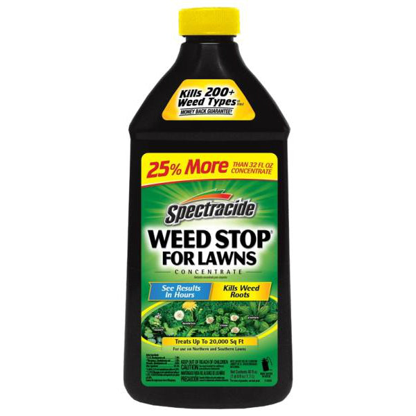 Spectracide HG-96631 Weed Stop for Lawns, Concentrate, 40 Oz