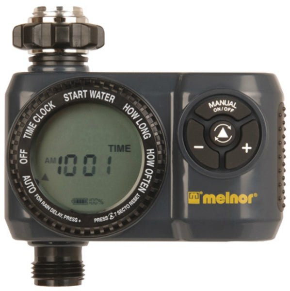 Melnor 63015 LCD Screen Aqua Water Timer with 6-Cycle